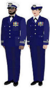Image Dinner Dress Blue Uniform
