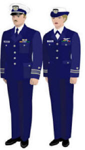Us coast guard operational dress uniform